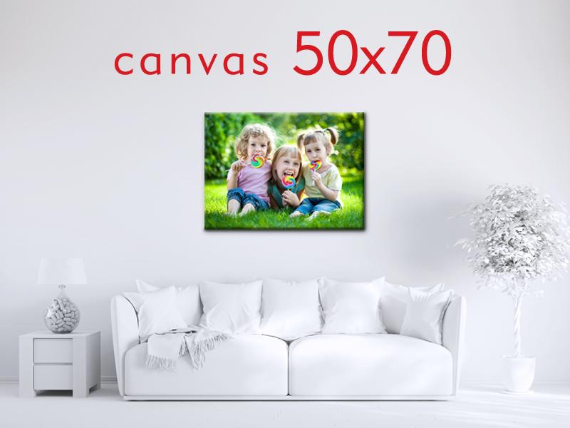 Obraz na płótnie 50x70 cm + blejtram