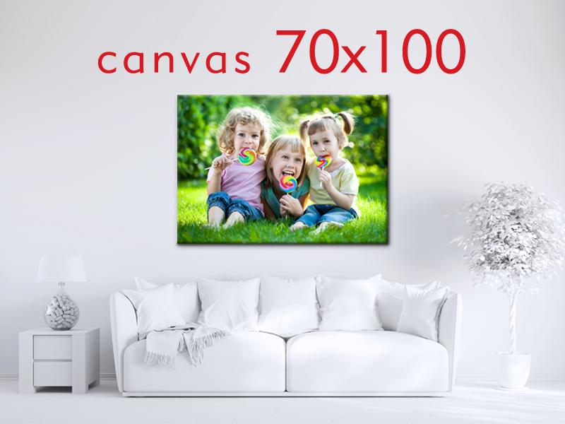 Obraz na płótnie 70x100cm + blejtram