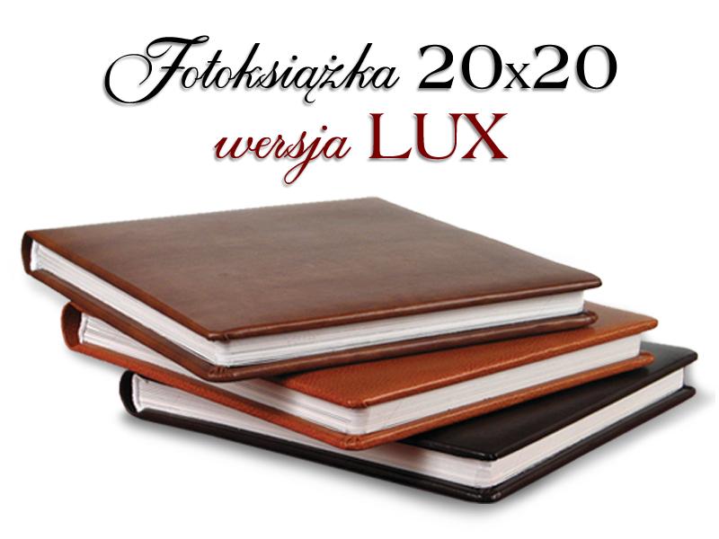 Fotoksiążka 20x20 LUX