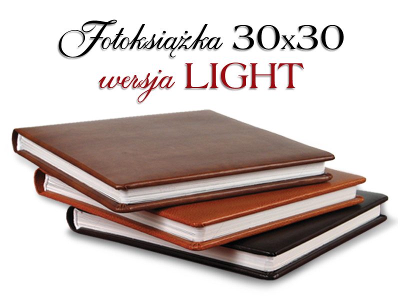 Fotoksiążka 30x30 LIGHT